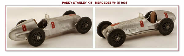 Un kit Mercedes di Paddy Stanley