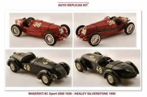 Kit Maserati e  Healey Auto Replicas